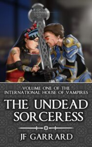 Book Cover: The Undead Sorceress