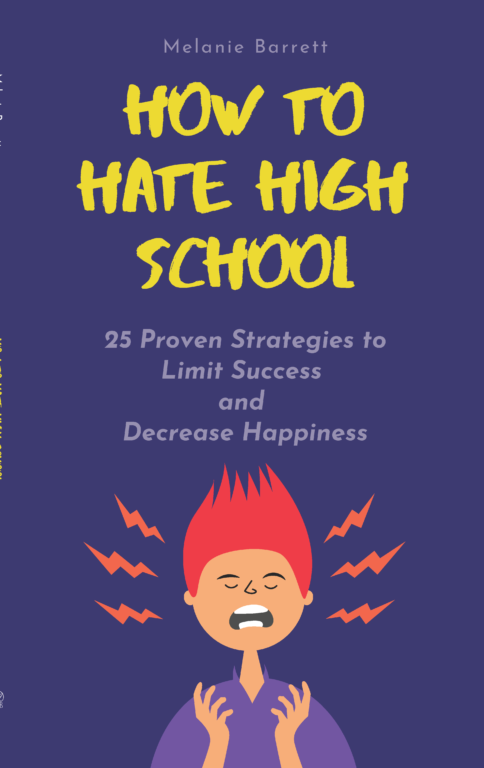 Book Cover: How to Hate High School