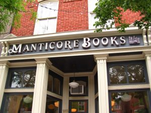 Manticore Books in Orillia, ON